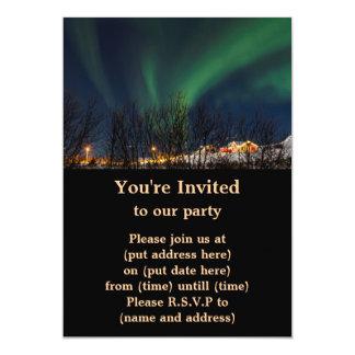 Northern Lights - Aurora Borealis Iceland Card