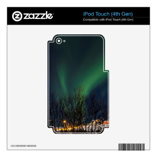 Northern Lights - Aurora Borealis Iceland Skins For iPod Touch 4G