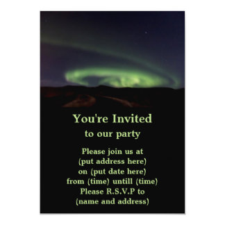 Northern Lights - Aurora Borealis in Iceland Card