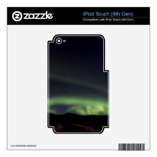 Northern Lights - Aurora Borealis in Iceland iPod Touch 4G Decals