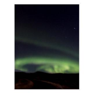 Northern Lights - Aurora Borealis in Iceland Postcard