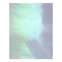 Northern Lights / Aurora Borealis Letterhead