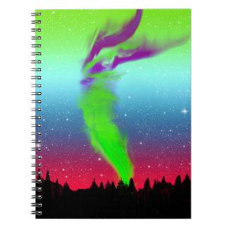 Northern Lights - Aurora Borealis Notebook