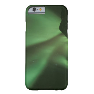 Northern lights, Aurora borealis on foothills of Barely There iPhone 6 Case