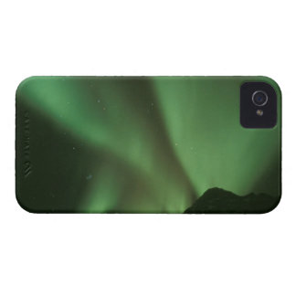 Northern lights, Aurora borealis on foothills of iPhone 4 Cover
