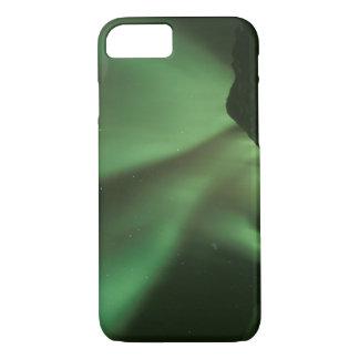 Northern lights, Aurora borealis on foothills of iPhone 8/7 Case
