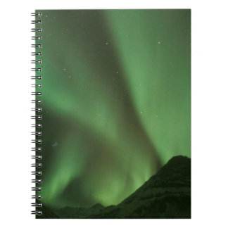 Northern lights, Aurora borealis on foothills of Notebook