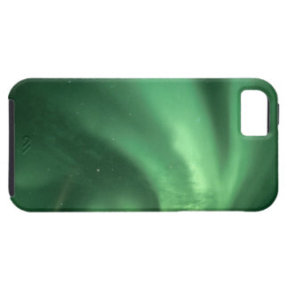 Northern lights, Aurora borealis, over foothills iPhone 5 Cases