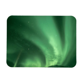 Northern lights, Aurora borealis, over foothills Magnet
