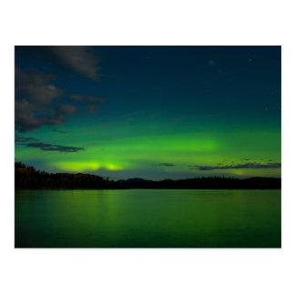 Northern lights (Aurora borealis) Postcard