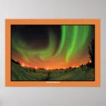 Northern Lights Aurora Borealis Poster
