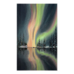 NORTHERN LIGHTS by SHARON SHARPE Poster