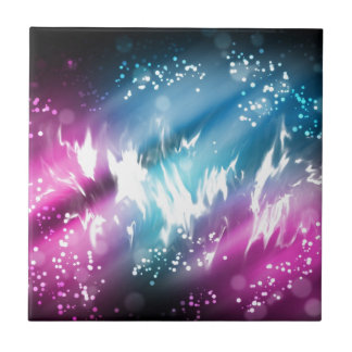 Northern lights ceramic tile