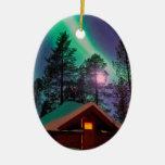 Northern Lights Christmas Ornaments