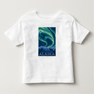 Northern Lights - Denali National Park, Alaska Toddler T-shirt