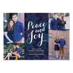"Northern Lights Holiday Photo Card 5"" X 7"" Invitation Card"