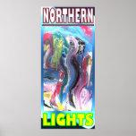 NORTHERN LIGHTS HYBRID PRINT