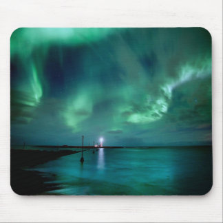 Northern Lights Iceland Mouse Pad