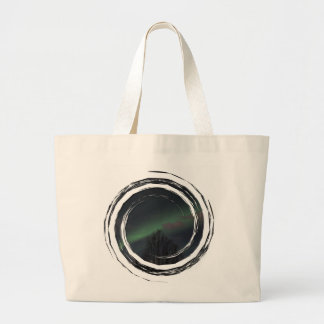 Northern Lights in Boreal Forest Tote Bag