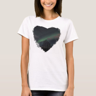 Northern Lights in Boreal Forest T-Shirt