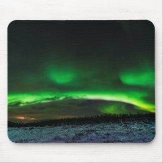 Northern Lights in Sweden Mousepad