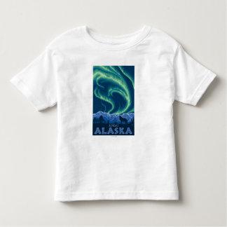 Northern Lights - Juneau, Alaska Toddler T-shirt