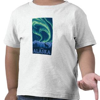 Northern Lights - Juneau, Alaska T Shirt