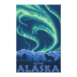 Northern Lights - Katmai, Alaska Canvas Print