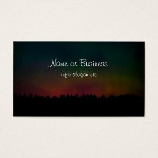 Northern Lights Landscape Business Card