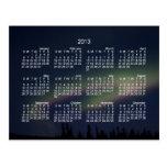 Northern Lights Loop; 2013 Calendar Post Card