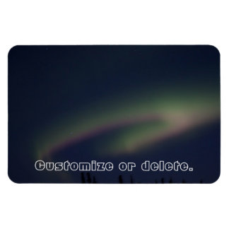 Northern Lights Loop; Customizable Magnet
