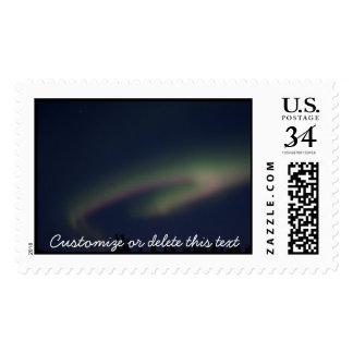 Northern Lights Loop; Customizable Postage
