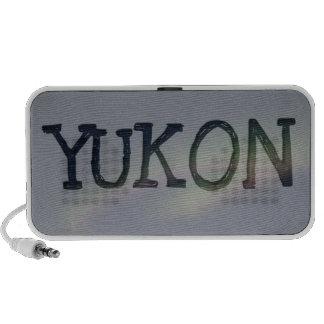 Northern Lights Loop; Yukon Territory Souvenir Mp3 Speakers