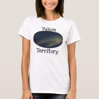 Northern Lights Loop; Yukon Territory Souvenir T-Shirt