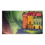 Northern Lights Night Art Peace Love Party Destiny Double-Sided Standard Business Cards (Pack Of 100)