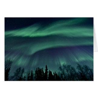 Northern Lights of Alaska Card
