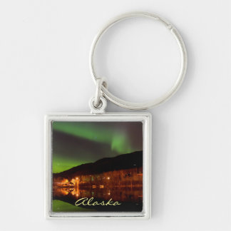 Northern Lights of Alaska Keychain