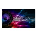Northern Lights Photography Studio business card
