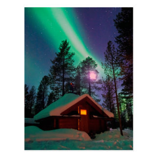Northern Lights Postcard