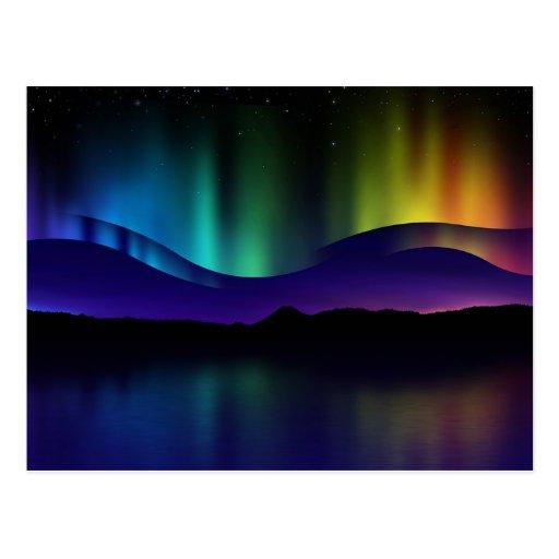 Northern Lights Postcard