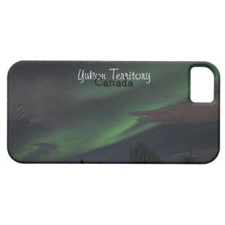 Northern Lights Show; Yukon Territory Souvenir iPhone 5 Case