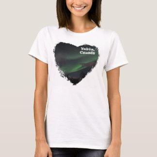 Northern Lights Show; Yukon Territory Souvenir T-Shirt