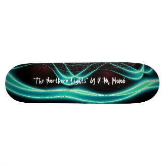 """Northern Lights"" Skateboard"
