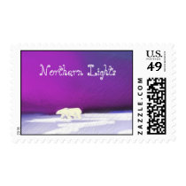 Northern Lights Stamp