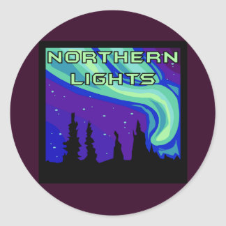 Northern Lights Stickers