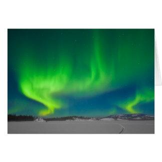 Northern Lights Swirls Card