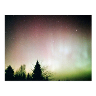 Northern Lights, Vermont Postcard