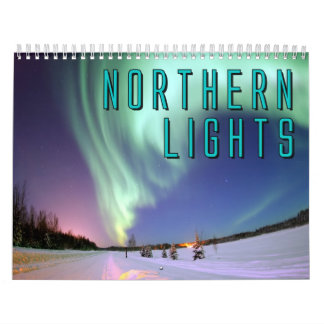 Northern Lights Wall Calendar