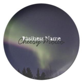 Northern Lights with a Streak of Purple; Promo Plate