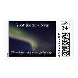 Northern Lights with a Streak of Purple; Promo Postage